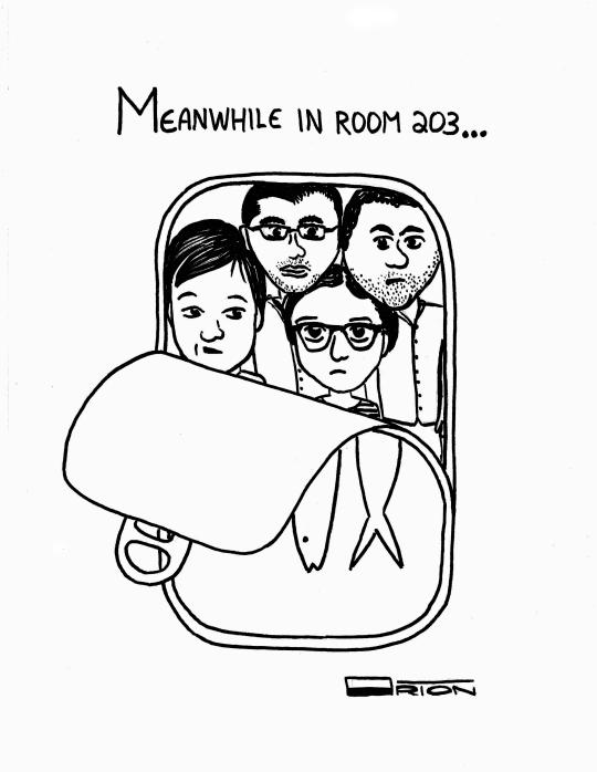 By Political Cartoonist Orion Sanchez