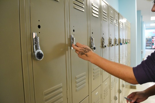 Photo by Mario Andreatta Lockers tend to cause more problems than they are worth, said Daniel Barbour.