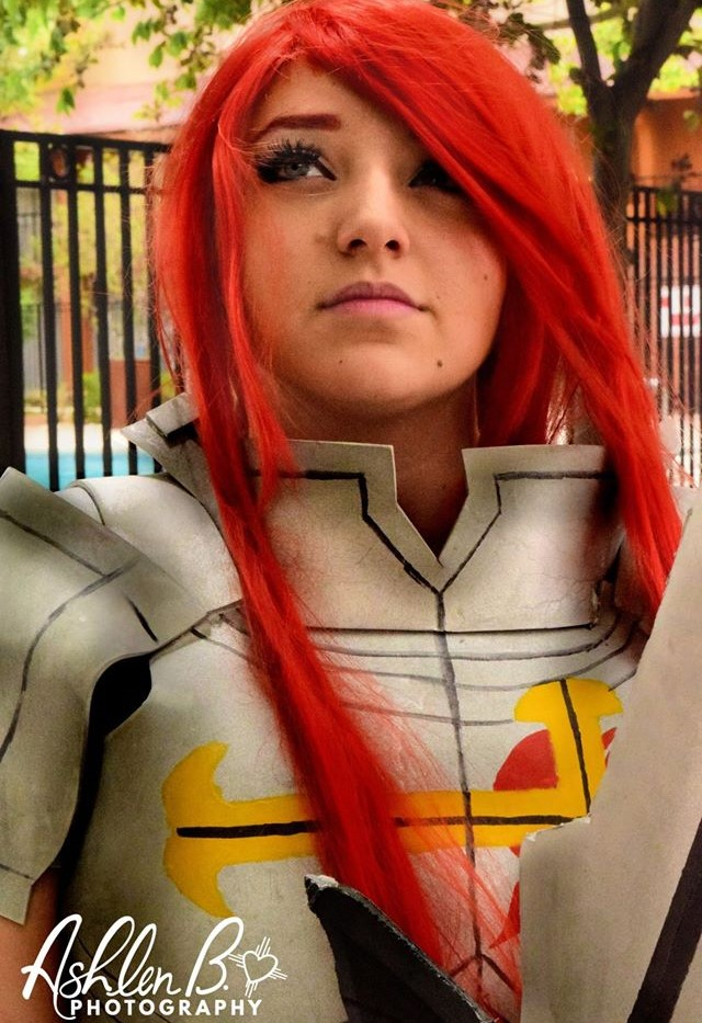 Sadina Tarbox Dressed As Ezra Scarlet From The Popular Anime Fairy Tail Said Cosplay Is Something She And Her Friends Do An Alternative To
