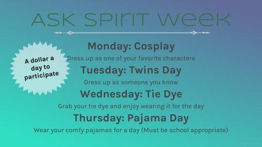 ASK Spirit Week