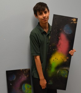 Photo by Max DeJong Senior Isaiah Gonzales said he chose to come to ASK for many reasons beyond the STEM pathway.