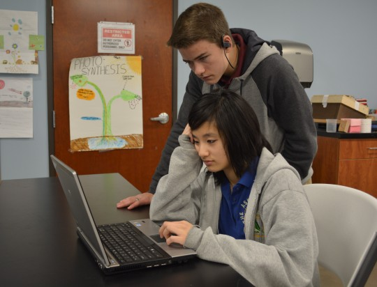 Photo by The Catalyst -- ASK scholars will participate in an hour of coding -- a global movement that promotes education in the computer sciences.